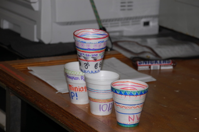 Cups to shrink