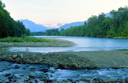 Skagit River Looking East at El Dorado